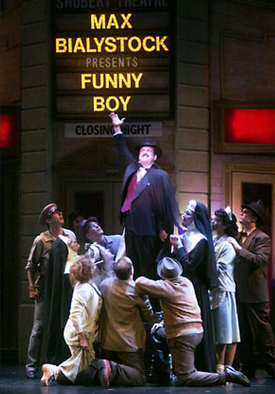 Lewis in The Producers
